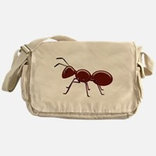 Shiny Brown Ant Messenger Bag