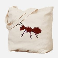 Shiny Brown Ant Tote Bag
