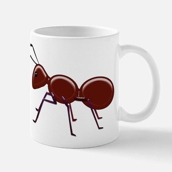 Shiny Brown Ant Mugs