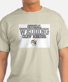Official Wedding Crew T-Shirt