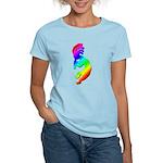 Rainbow Kokopelli Women's Light T-Shirt