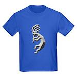 Granite Kokopelli Kids Dark T-Shirt