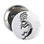 Granite Kokopelli Button
