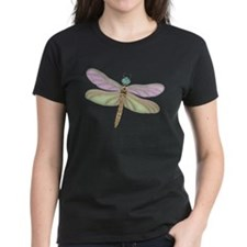 Lavender and Green Dragonfly T-Shirt