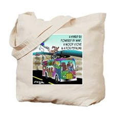 RV Cartoon 8250 Tote Bag