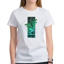 green dragonfly and frog copy T-Shirt