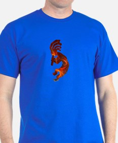Fire Red Kokopelli T-Shirt