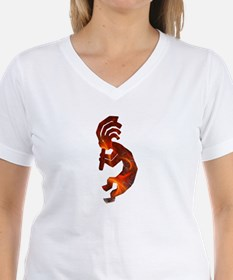 Fire Red Kokopelli Shirt