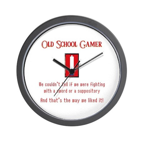 Confused Gamer Wall Clock
