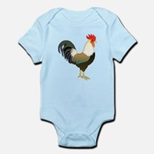 Rocking Rooster Body Suit