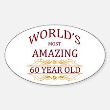 60th. Birthday Decal
