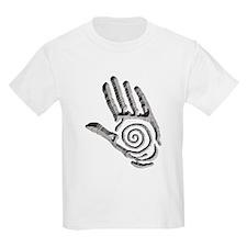 Granite Petroglyph Hand T-Shirt