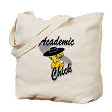 Academic Chick #4 Tote Bag
