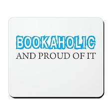 Bookaholic_WHT Mousepad
