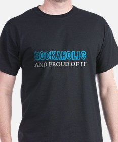 Bookaholic_BLK T-Shirt