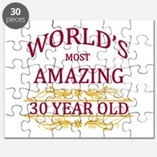 30th. Birthday Puzzle