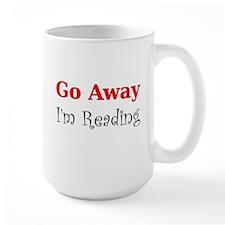 GoAway_WHT Mugs