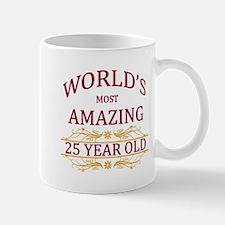 25th. Birthday Mug