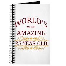 25th. Birthday Journal