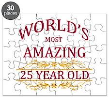 25th. Birthday Puzzle