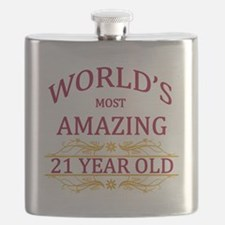 21st. Birthday Flask