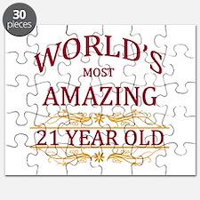 21st. Birthday Puzzle