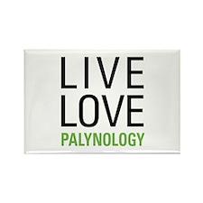 Live Love Palynology Rectangle Magnet (10 pack)