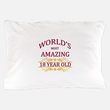 18th. Birthday Pillow Case
