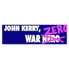 War zero bumper sticker