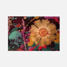 Wild child flowers! Rectangle Magnet