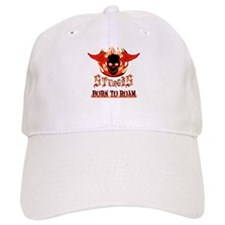 Born To Roam Fire Ball Sturgis Baseball Baseball Cap