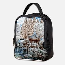 Chinese Garden Infrared Neoprene Lunch Bag