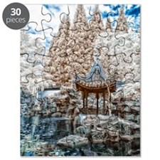 Chinese Garden Infrared Puzzle