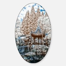 Chinese Garden Infrared Decal