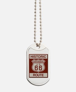 Arcadia Route 66 Dog Tags