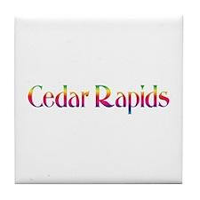 Cedar Rapids Tile Coaster