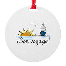 Bon Voyage Ornament