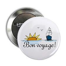 "Bon Voyage 2.25"" Button (10 pack)"