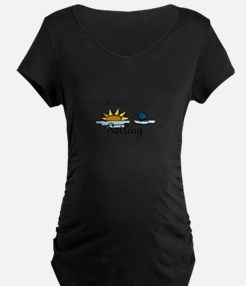 All About Sailing Maternity T-Shirt
