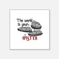 Your Oyster Sticker