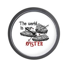 Your Oyster Wall Clock