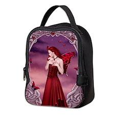 Garnet Birthstone Fairy Neoprene Lunch Bag