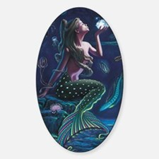 Bioluminescent Mermaid Decal