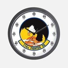 114th Fighter Squadron Wall Clock