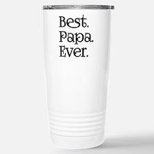 BEST PAPA EVER Travel Mug