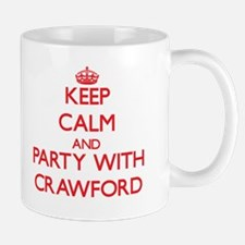 Keep calm and Party with Crawford Mugs