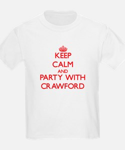 Keep calm and Party with Crawford T-Shirt