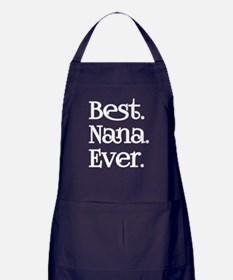 BEST NANA EVER Apron (dark)