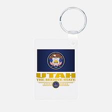 Utah Flag (v15) Keychains