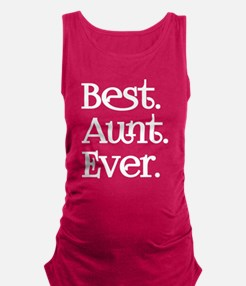 Best Aunt Ever Maternity Tank Top
